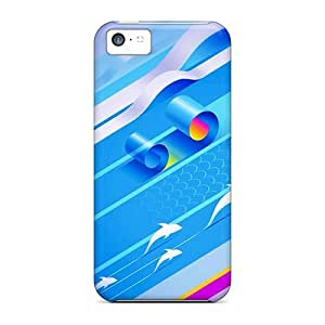 XiFu*MeiTough Iphone QWr16535kcim Cases Covers/ Cases For iphone 5/5s(ripples)XiFu*Mei