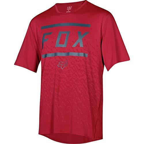 Fox Racing Youth Ranger Short Sleeve Jersey - Boys' Cardinal, L