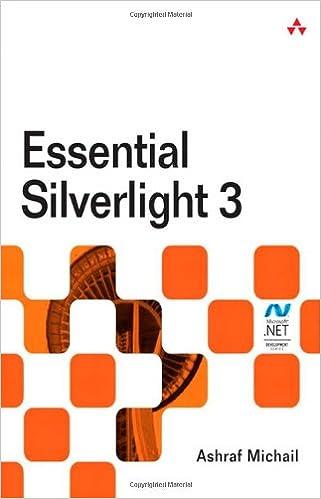 Essential Silverlight 3 Ashraf Michail 9780321554161 Amazon Books