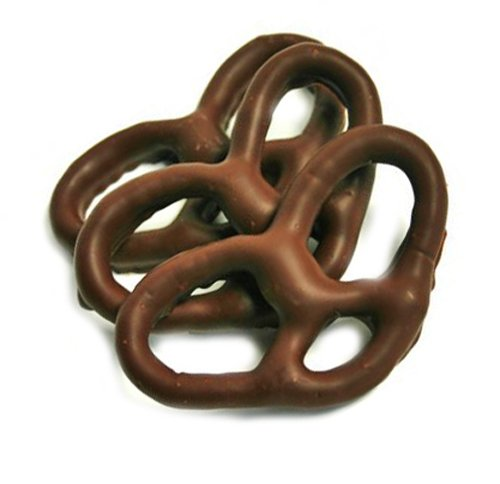 Asher Pretzels Chocolate (SweetGourmet Dark Chocolate Covered Pretzels (1Lb Gift Box))