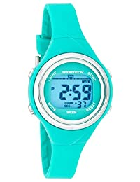 Unisex Watches by Sportech - Turquoise Digital Water Resistant Sport Watch - Make Every Second Count - SP10718