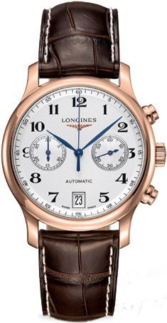 Longines-Master-Collection-Silver-Dial-18kt-Rose-Gold-Brown-Leather-Mens-Watch-L26698783