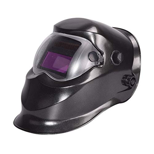 LAIABOR Welding Helmet Auto Darkening Digital Controlled Cutting Helmet Mask Eyes Protection Solar Powered Gas Mig Tig Arc Welder