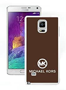 Newest M-K Samsung Galaxy Note 4 Screen Case ,Unique M-K 92 White Samsung Galaxy Note 4 Cover Case Fashion And Durable Designed Phone Case