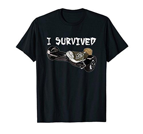 Hover Board Accident Survivor Tennis Shoes Shirt I