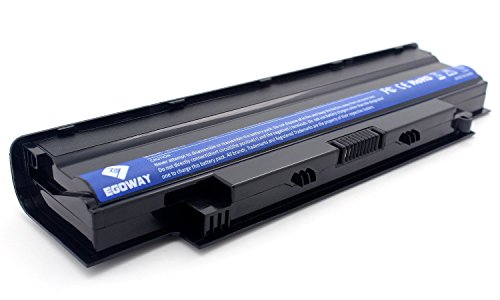 E EGOWAY 5200mAh-58Wh Laptop Battery for Dell Inspiron N3010 N4010 N4110 N5010 N5110 N7010 M4110 M5110 M501 M5030 Series, Vostro 3450 3550 3550n 3750-18 Months Warranty