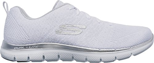Appeal 0 Donna Infilare Flex Skechers Blanc Insights 2 Sneaker Aqwx4tO5f