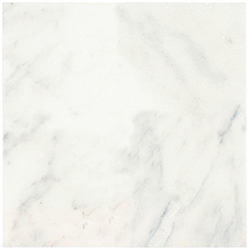 Dal-Tile M19066TS1P- Marble Tile, First Snow Elegance Tumbled -  Dal - Tile