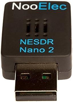 NESDR Nano 2 - Juego USB RTL-SDR Tiny Black (RTL2832U + R820T2) con antena MCX. Radio definida por software, compatible con DVB-T y ADS-B, ESD Safe: Amazon.es: Electrónica