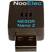 Nooelec NESDR Nano 2 - mały czarny zestaw RTL-SDR-USB (RTL2832U + R820T2) z anteną MCX. Oprogramowanie Defined Radio…
