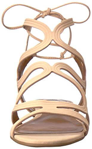 Sandalias Madden Punta Piel De Talla Steve Abierta Piso Cece Nude Mujeres Casual adx04q0f