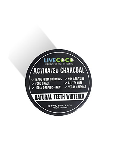 photo Wallpaper of LiveCoco-LiveCoco LIMITED TIME Activated Charcoal 2.8oz=Around 300 Uses (Made From Coconut Shells)| Activated Carbon-