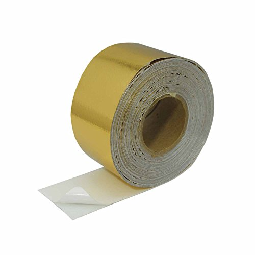 Heatshield Products (344009) Gold Heat Shield Tape, 2'' x 50 Feet by Heatshield Products