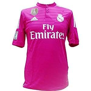 adidas WC Real A JSY - Camiseta para Hombre, Color Rosa, Talla S