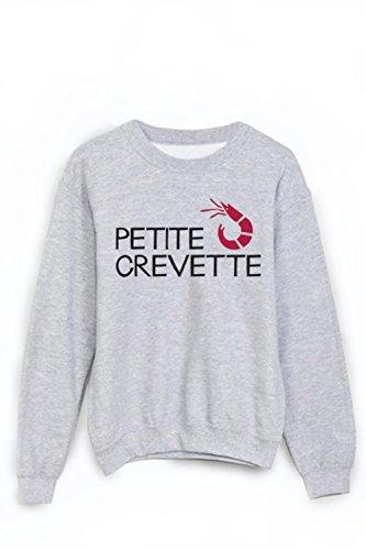 Sweat-Shirt Citation petite crevette ref 1867 - M