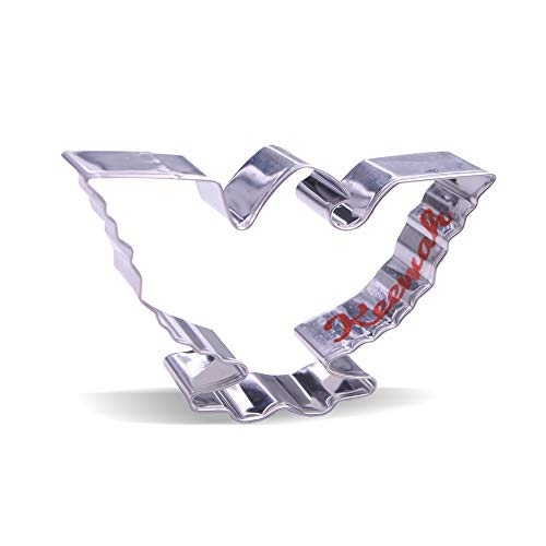 4.1 inch American Eagle Cookie Cutter - Stainless Steel