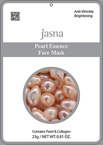 Anti-wrinkle Brightening Pearl Powder Essence Collagen Face Mask Pack of 10