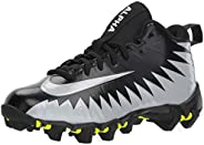 Nike Men's Alpha Menace 2 Shark Football Cleat Black/White/Anthracite Size
