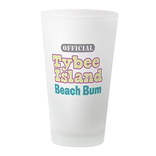 CafePress - Tybee Island Beach Bum Pint Glass - Pint Glass, 16 oz. Drinking (Party City In Savannah Georgia)