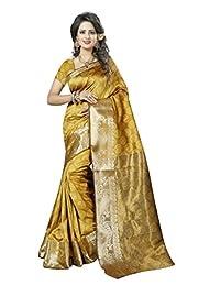 Banarasi Saree( Nirja Creation Multi Color Fancy party Wear Banrasi Saree )