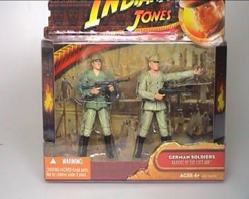 Indiana Jones Deluxe Figure: German Soldier 2-Pack