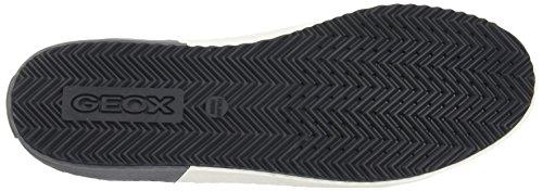 Geox Kalispera A, Sneakers Basses Mixte Adulte Gris (Dk Grey)