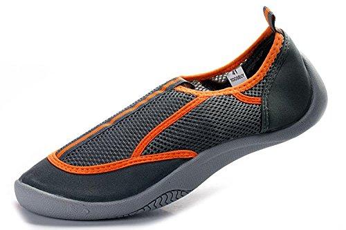 Tosbuy Mesh Slip on Water Shoes for Women(eu37,orange)