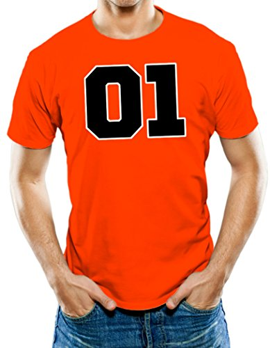 Universal Apparel Men's Dukes Of Hazard General Lee T-Shirt