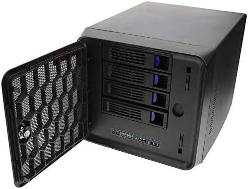 RackMatic - Caja cúbica Mini ITX 4 Discos Duros SATA extraibles ...