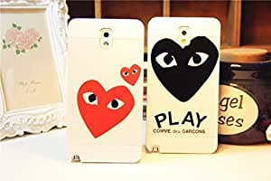 Galaxy S5 Case, Look Into Your Heart Back Case Cover for Samsung Galaxy S5 I9600,2 pieces