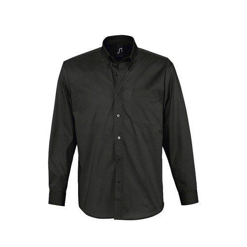 SOLS - Camisa de Manga Larga para Trabajar Modelo Bel-Air Hombre Caballero - Trabajo/Fiesta/Verano