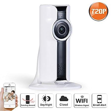 4a79f667d59d8 Swinway WIFI IP Camera 720P VR HD H.264 Smart 180 panoramic Network  Surveillance Home