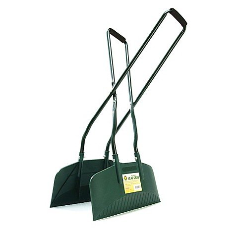 Bosmere - Long Handled Leaf Grabs with Green powder-coated steel (Handled Long Leaf)