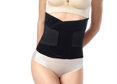 Waist Trimmer Belt-Postpartum Postnatal Recoery Support Girdle Belt Post Pregnancy After Birth Special Belly,Fat Burning Lost Weight Slimming Belt, Tummy Triner Band Abdomen Abdominal Binder Belly by Goege (Image #2)