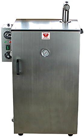 30-135/°C H//B//T doppelwandig ca und Gew/ürzschublade - Thermostat R/äucherschrank mit Zeitsteuerung Beeketal BDSH-S03 elektrischer Edelstahl R/äucherofen mit W/ärmed/ämmung 900 x 600 x 410 mm