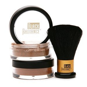 Black Radiance perfect Blend Mineral Foundation with brush Dark 8203