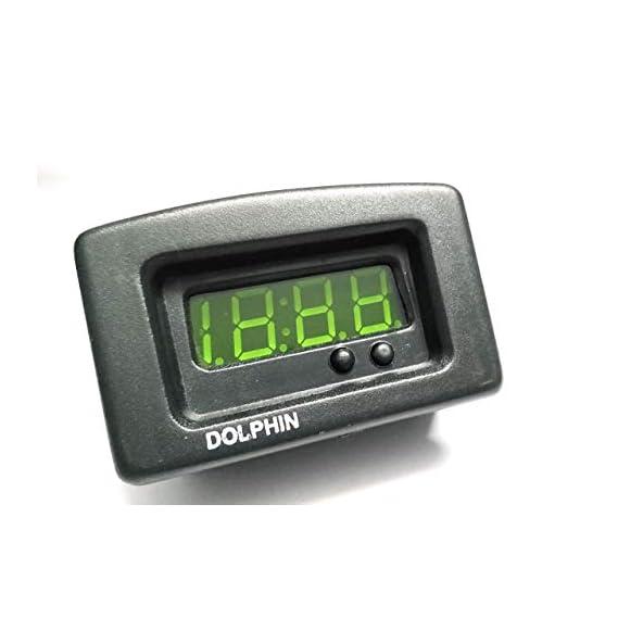 Dolphin car accessories Digital TATA CHOHTA HATHI Clock