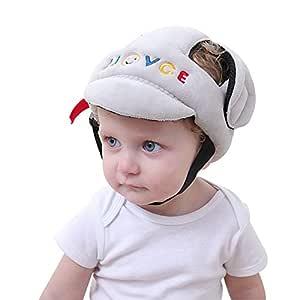 KMMall Baby Infant Safety Helmet Children Toddler Adjustable Safety Helmet Headguard Protective Harnesses Cap