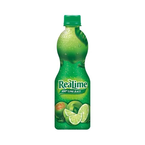 ReaLime 100% Lime Juice, 8 Fluid Ounce Bottle 1 Product of United States of America