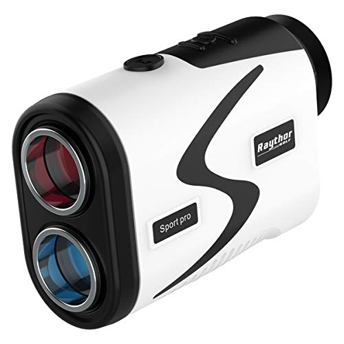 Raythor Golf Rangefinder,6X Rechargeable Laser Range Finder 1000 Yards with Slope Adjustment,PinSeeker with JOLT Tech and Fast Focus System,Continuous Scan Support,Perfect for Choosing The Right Club
