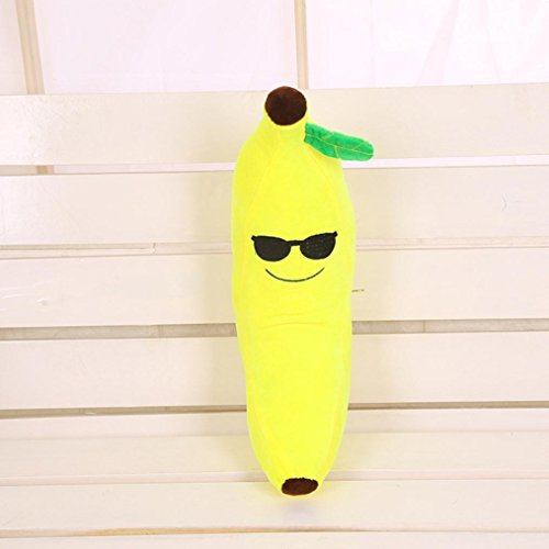 "2016 Christmas Decoration, Owill Lovely Emoji Fruit Banana Pillow Cushions Head Cushion Pillow Plush Toys 17.7"" (Style I)"