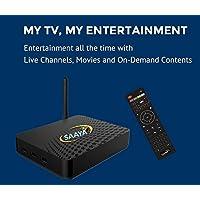 Saaya Tv - Full bundle with Accessories