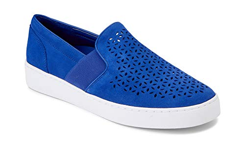Vionic Women's Splendid Kani Slip-on Walking Shoes - Ladies Athleisure Sneakers with Concealed Orthotic Arch Support Cobalt 6 M US
