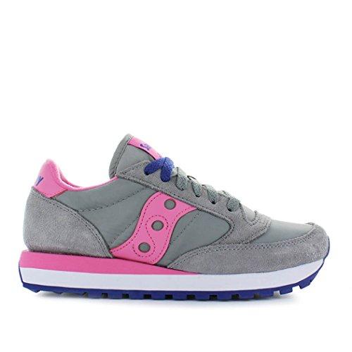 Jazz Sneaker Donna Alla Saucony S1044 Moda 464 rosa Grigio Original UnxPRd