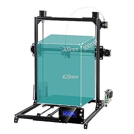 flsun 3D Impresora Plus Prusa i3 DIY Kit 300 x 300 x 420 Auto ...