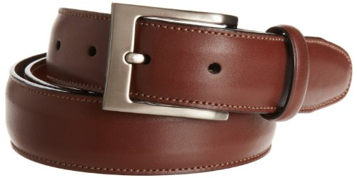 Perry Ellis Men's Timothy Belt, Brown, 34 (Perry Ellis Brown Belt)