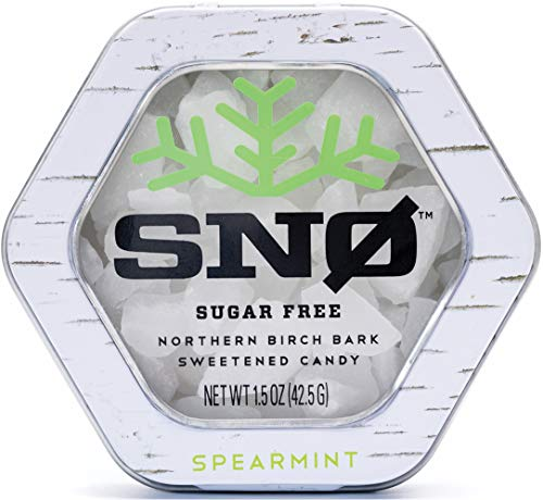 (NEW LOOK) Spearmint Xylitol Candy Chips - SN