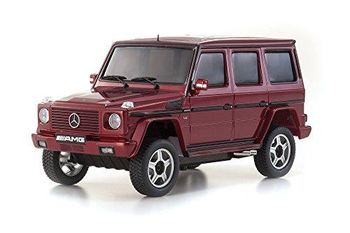 Kyosho Monster Truck (Kyosho Mini-Z Overland Sports Mercedes-Benz G55L AMG, Dark Red)