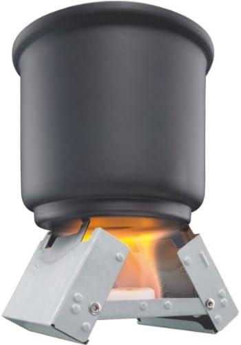 ESBIT Hornillo plegable con pastillas de combustión: Amazon ...