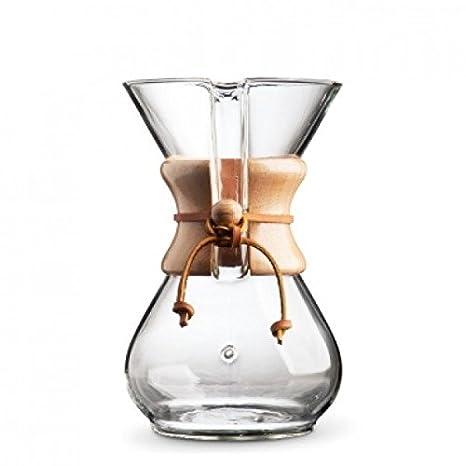 Chemex Cafetera - Juego de jarra para hasta 6 tazas (850 ml ...